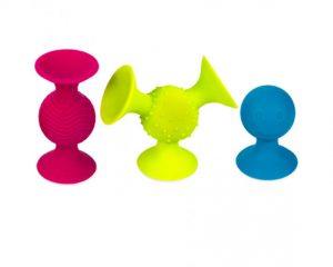 Zabawki sensoryczne Bobo Przyssawki – Fat Brain Toys