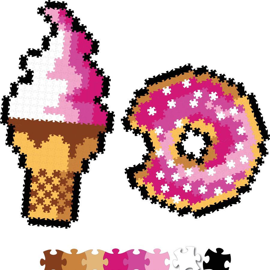 Puzzelki Pixelki Jixelz. Słodkości - Fat Brain Toy