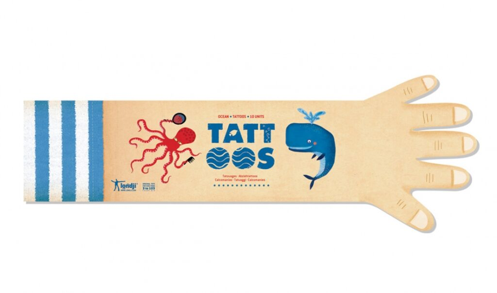 Tatuaże dla dzieci, Ocean – Londji