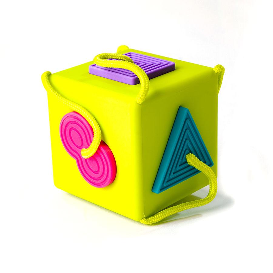 Sorter dla dzieci Kostka OombeeCube - Fat Brain Toys