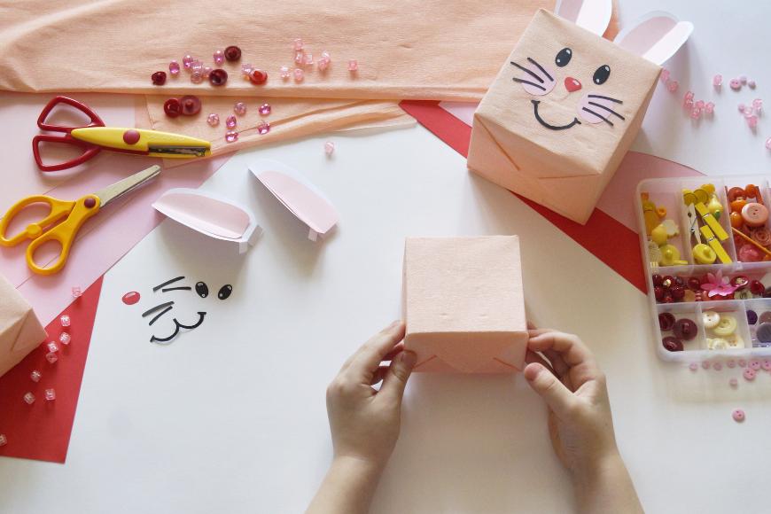 pakowanie prezentów dla dziecka