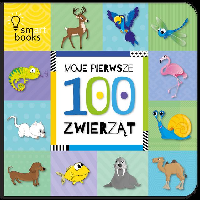 Moje pierwsze 100 zwierząt- Smart Books