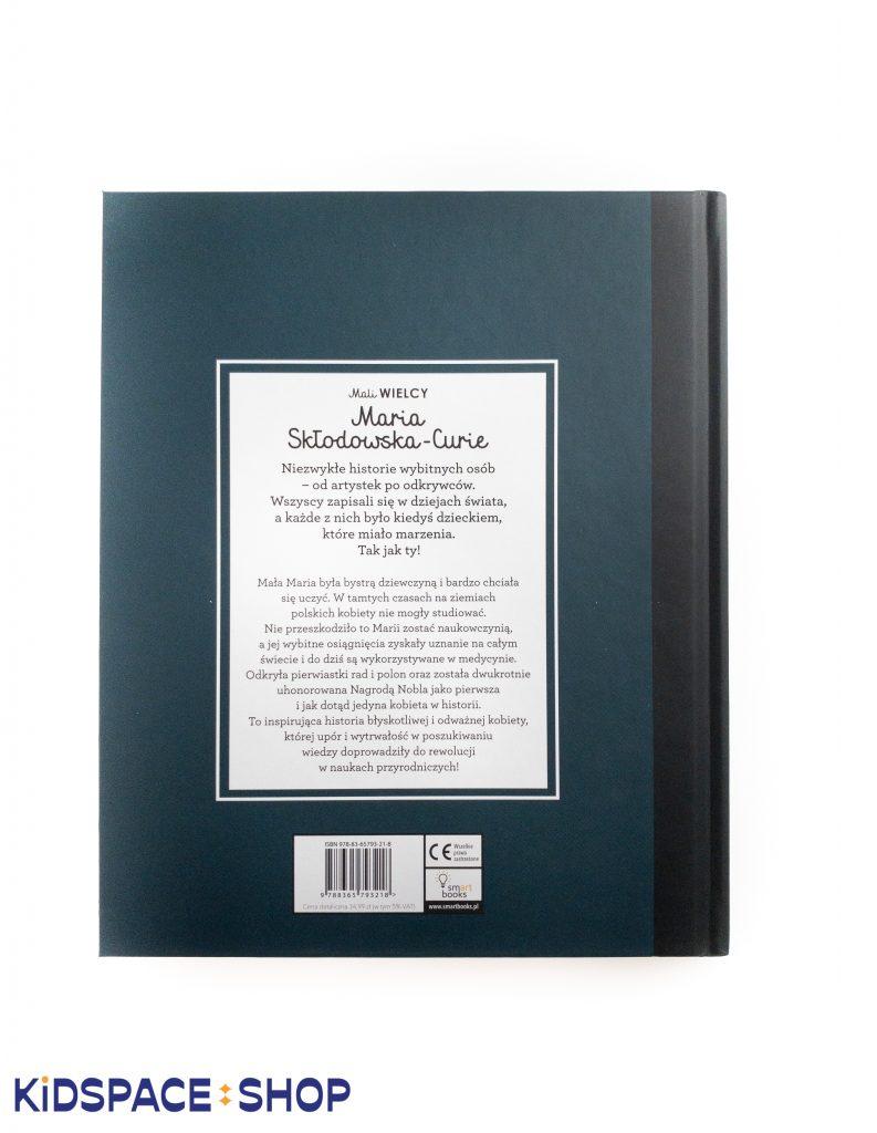 Mali WIELCY Maria Skłodowska - Curie - Smart Books