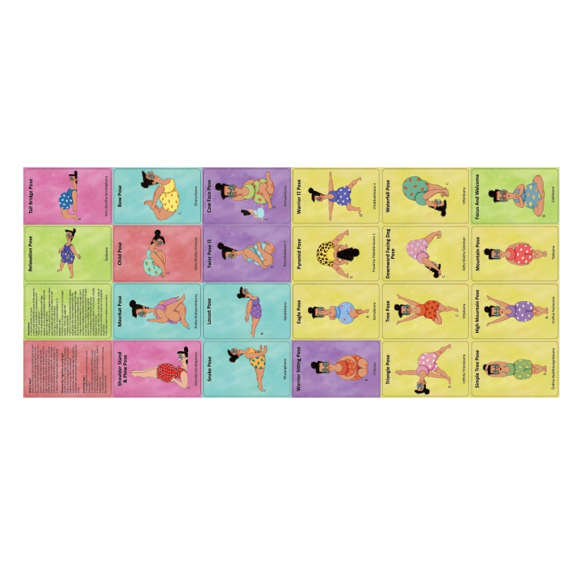 Karty Doda Yoga, Skupienie i Koncentracja od The Purple Cow (po ang.)