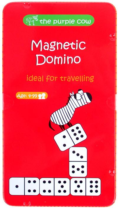 Gra magnetyczna domino dla dzieci od The Purple Cow