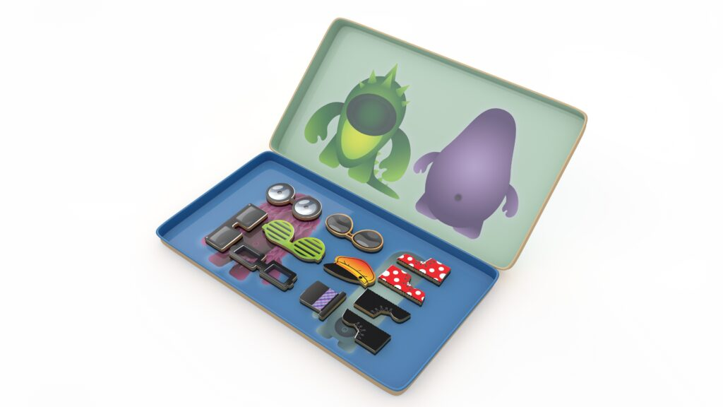 Gra magnetyczna Fabryka Potworów dla dzieci od The Purple Cow