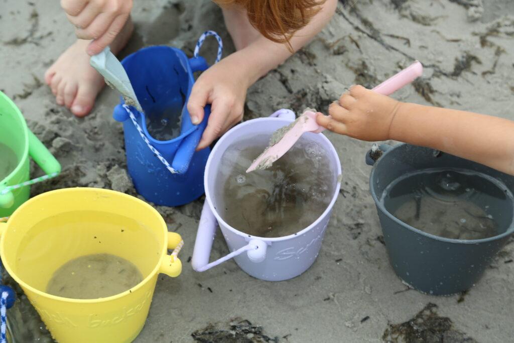 Łopatka Scrunch do piasku – Błękitna