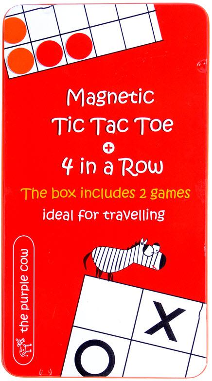 Magnetyczna gra kółko i krzyżyk dla dzieci od The Purple Cow