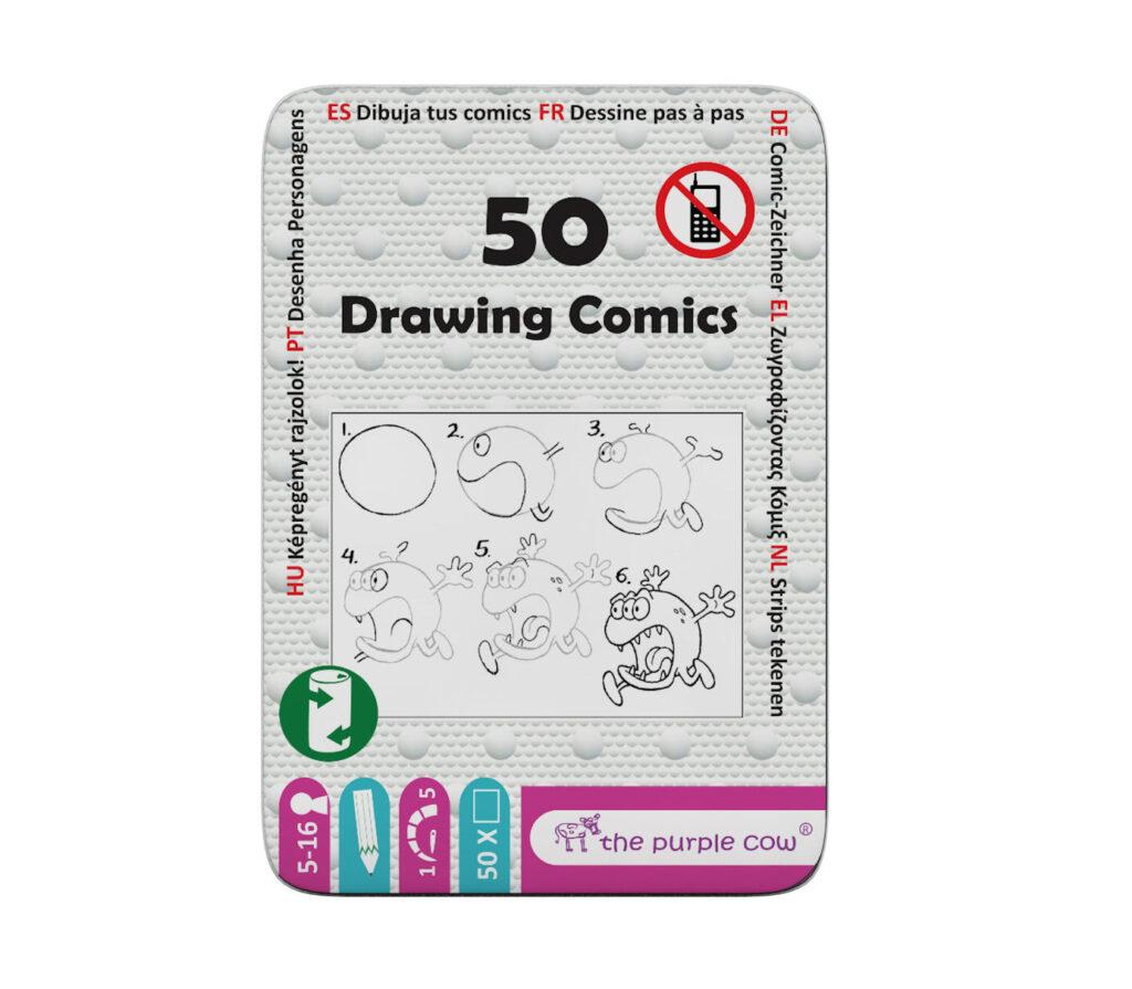 Zagadki logiczne dla dzieci: 50 Rysowanie komiksów od The Purple Cow