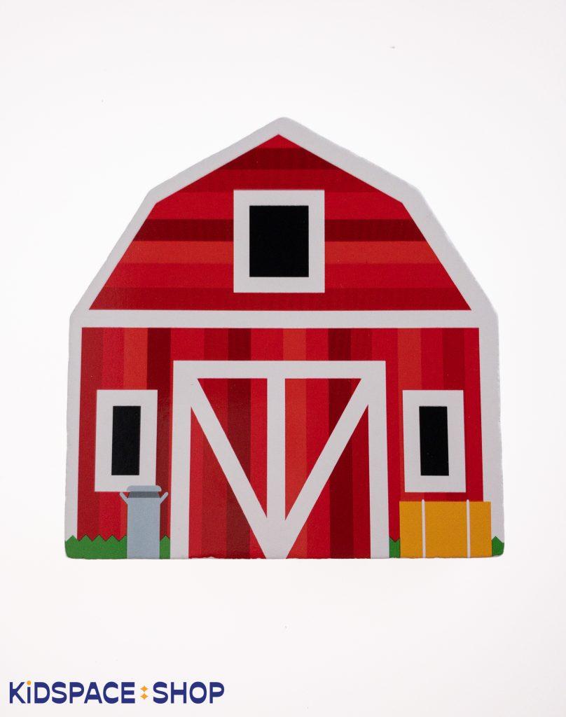 Drewniane klocki Farma, Mellisa&Doug