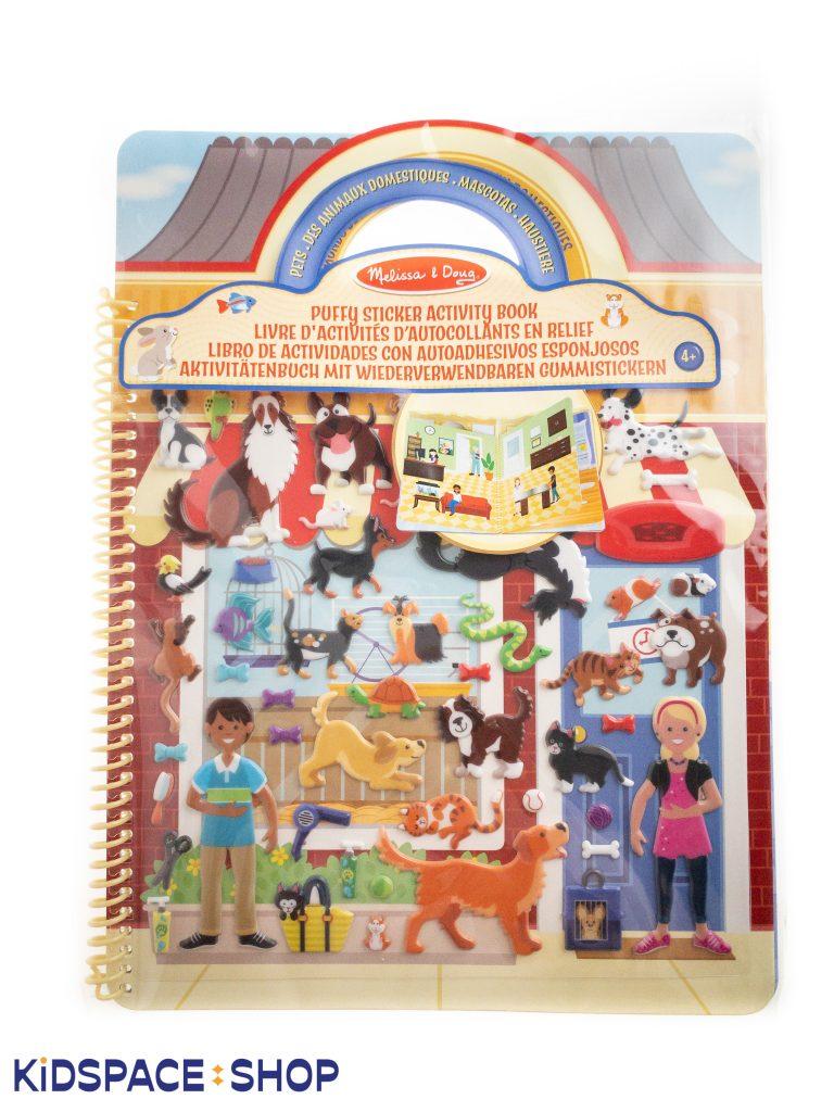 Książeczka z Naklejkami Pupile, Mellisa&Doug