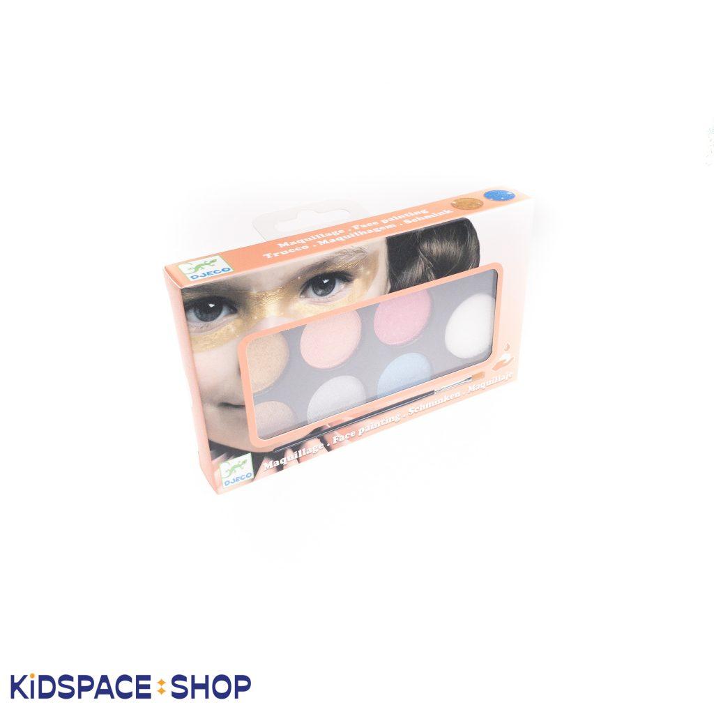 Farby do malowania twarzy METALLIC od Djeco
