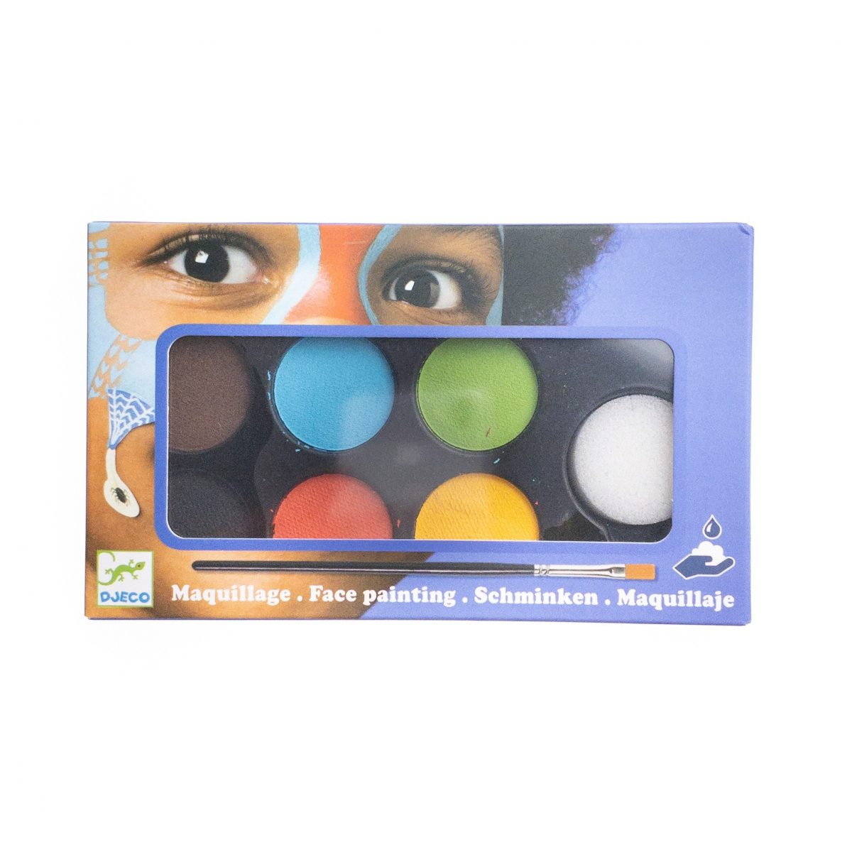 Farby do malowania twarzy NATURE od Djeco