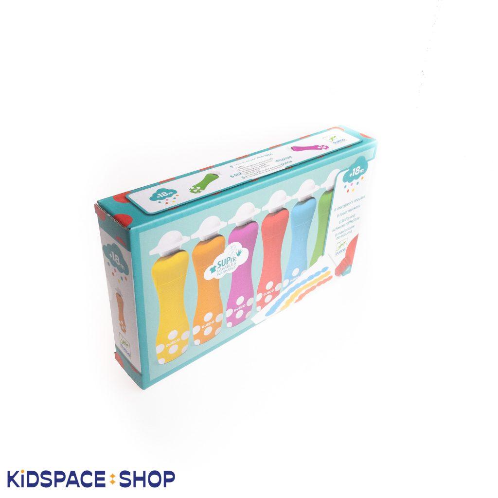 Markery stempelkowe dla najmłodszych od Djeco