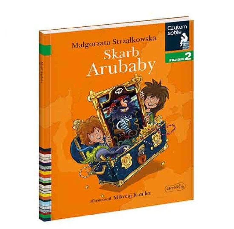 Czytam sobie. Skarb Arubaby. Poziom 2 - Wydawnictwo Harper Kids