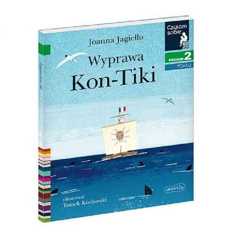 Czytam sobie. Wyprawa Kon-Tiki. Poziom 2 - Wydawnictwo Harper Kids