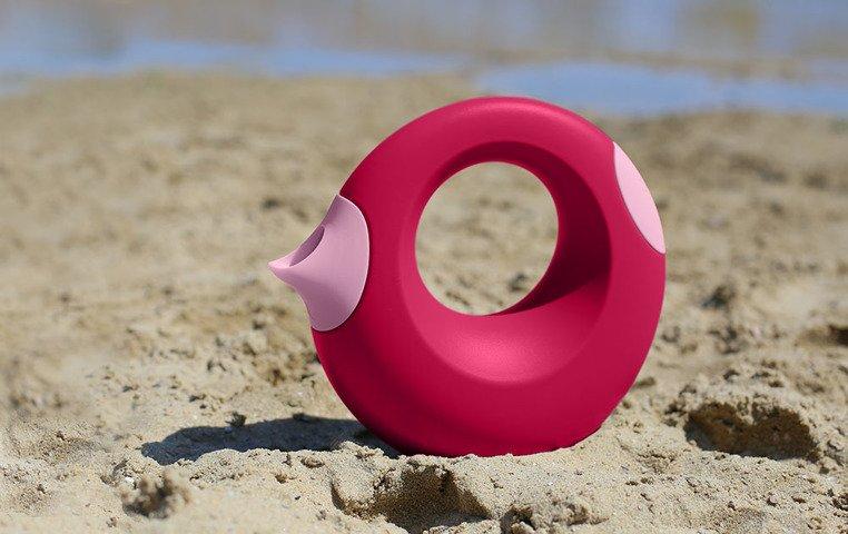 QUUT Konewka duża dla dzieci Cana Cherry Red + Sweet Pink