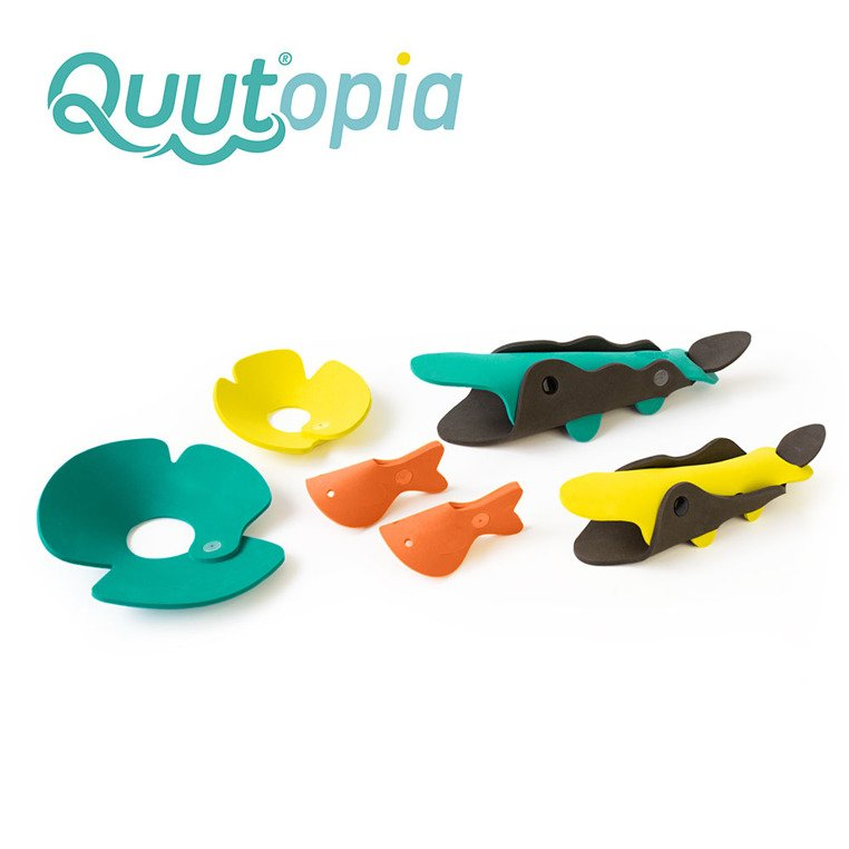 Puzzle piankowe 3D zoo: Quutopia Krokodyle od Quut