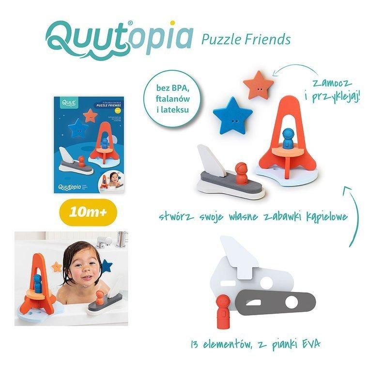 Puzzle piankowe 3D: Quutopia Wyprawa na księżyc od Quut