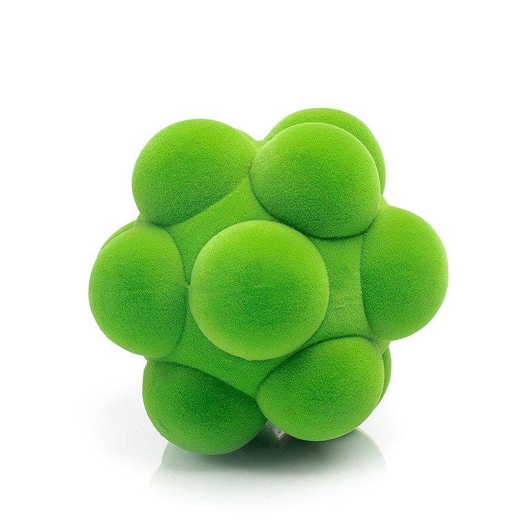 Piłka sensoryczna z mocną fakturą, zielone bąble od Rubbabu