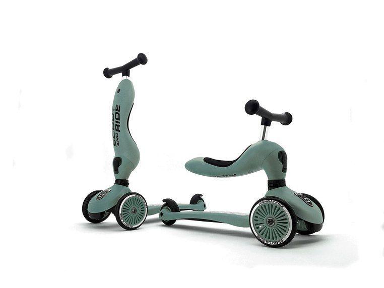 Hulajnoga jeździk 2w1 Scoot And Ride Highwaykick 1 dla dzieci 1-5 lat Zielony