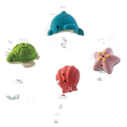 Zestaw zwierząt morskich do kąpieli od Plan Toys