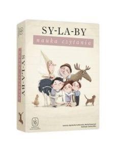 Sylaby. Nauka czytania. Gra edukacyjna Nasza Księgarnia