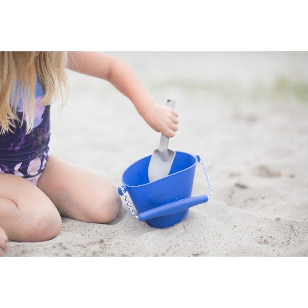 Łopatka Scrunch do piasku – Pastelowy Żółty
