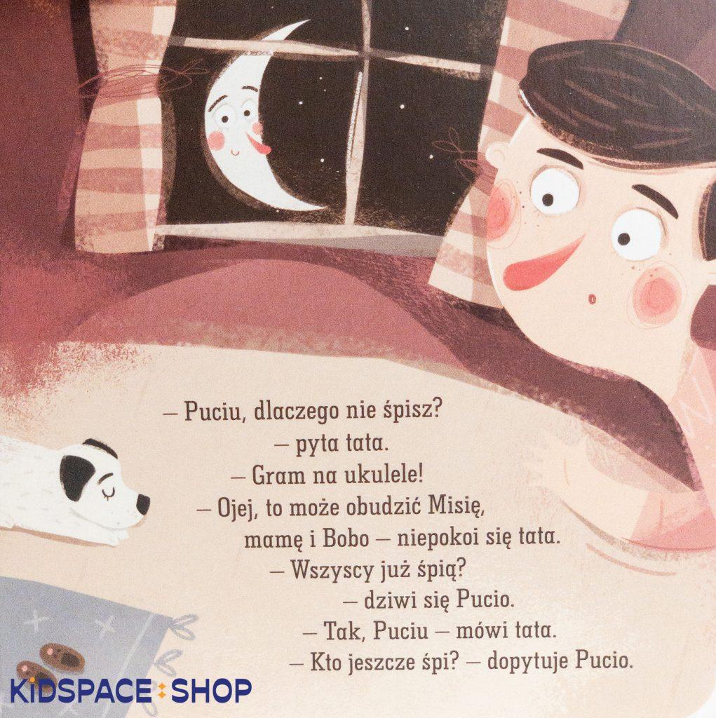 Pucio mówi dobranoc - Nasza Księgarnia