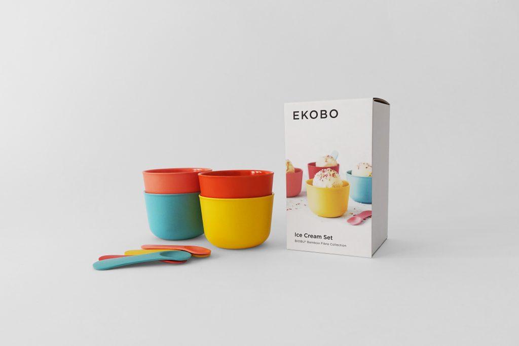 Kolorowy zestaw do lodów Ekobo – Ice cream Set