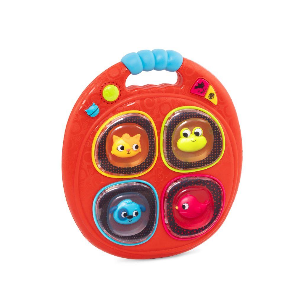 Pamięciowa gra muzyczna – Łapacz dźwięków od B.Toys