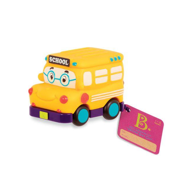 Mini Wheeee-ls! – zestaw 3 mini autek z napędem od B.Toys