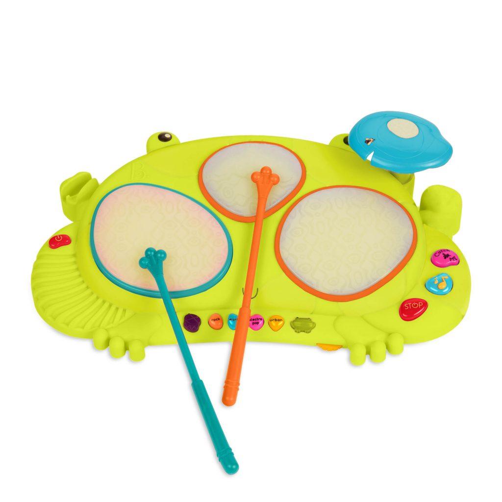 Perkusja-żaba – nowa wersja od B.Toys