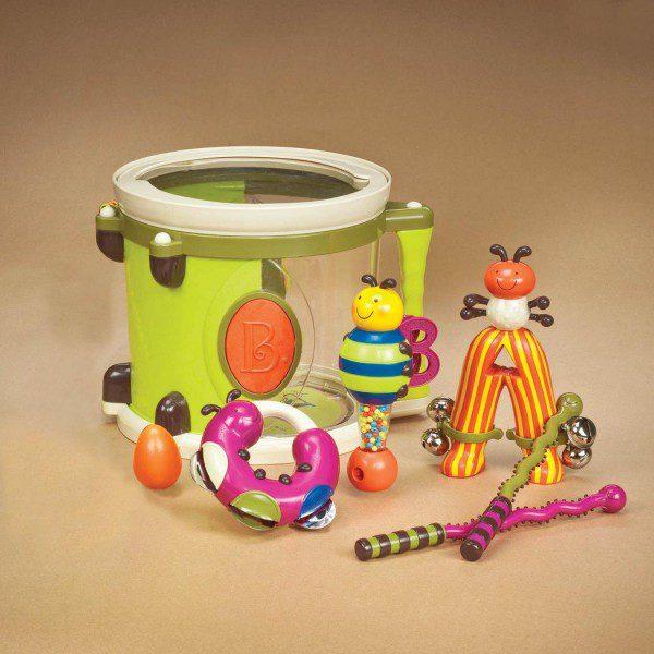 Bębenek z instrumentami od B.Toys