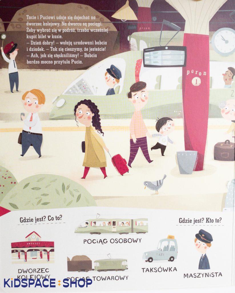 Pucio w mieście. Zabawy językowe dla młodszych - wydawnictwo Nasza Księgarnia