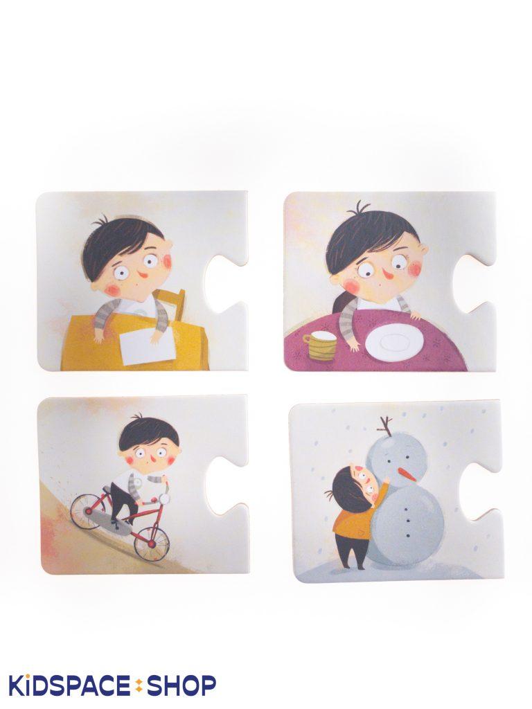 Puzzle - Pucio. Czego brakuje? - wydawnictwo Nasza Księgarnia