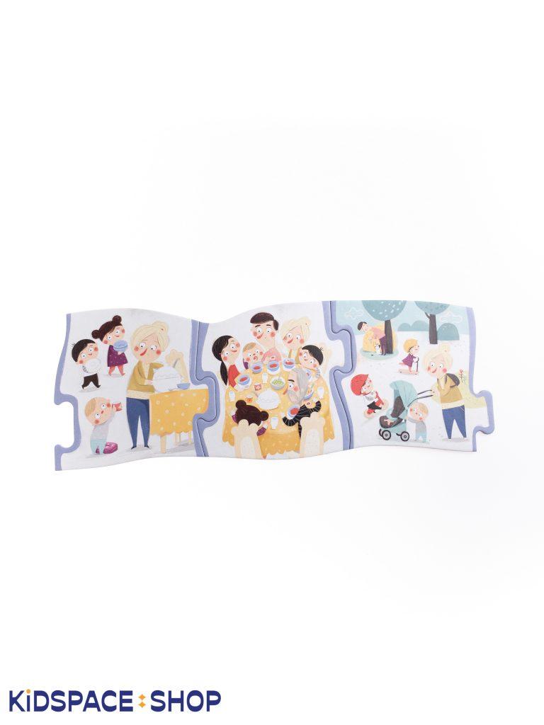 Puzzle - Pucio. Rodzinna sobota - wydawnictwo Nasza Księgarnia