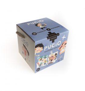 Puzzle – Pucio. Rodzinna sobota – wydawnictwo Nasza Księgarnia