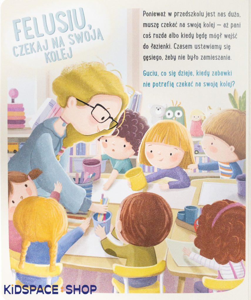 Feluś i Gucio wiedzą, jak się zachować - wydawnictwo Nasza Księgarnia