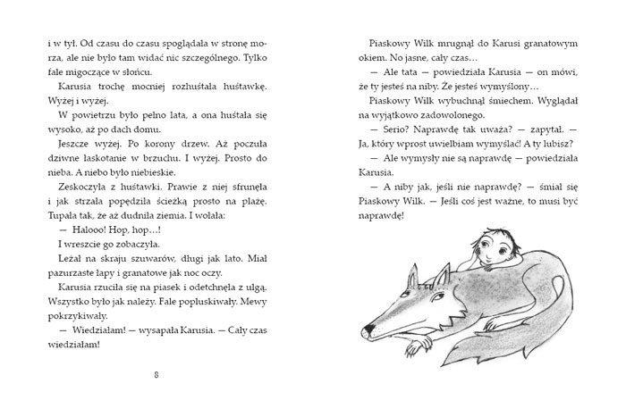 Piaskowy wilk i prawdziwe wymysły - wydawnictwo Zakamarki