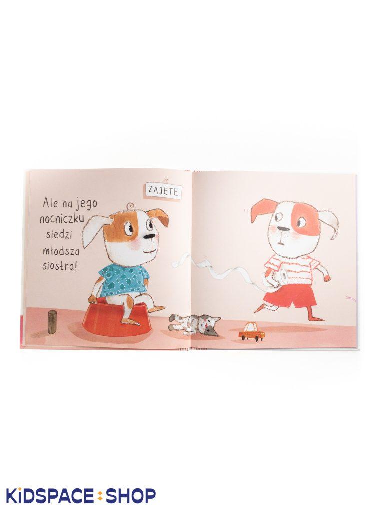 Chce mi się kupę - wydawnictwo Nasza Księgarnia