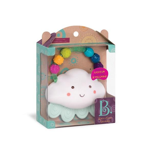 Świecący gryzak-grzechotka – Chmurka od B.Toys