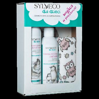 Zestaw dla dzieci z myjką od Sylveco