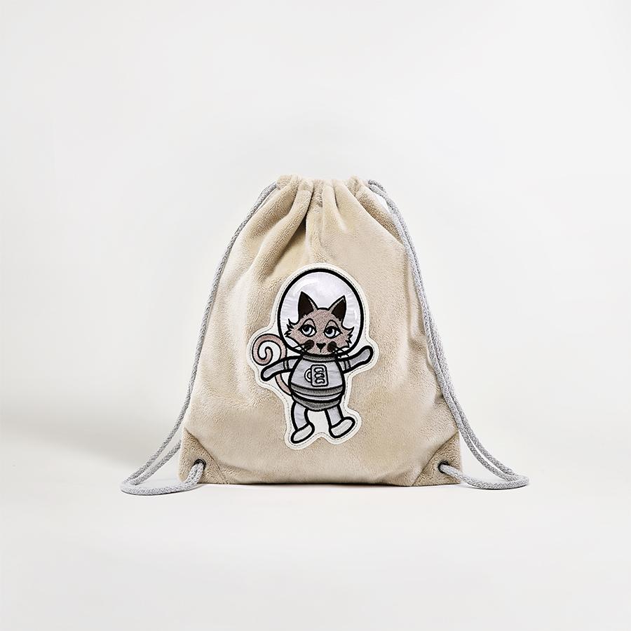 Plecako-worek Astrokot beżowy