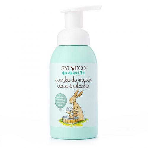 Pianka do mycia ciała i włosów od Sylveco
